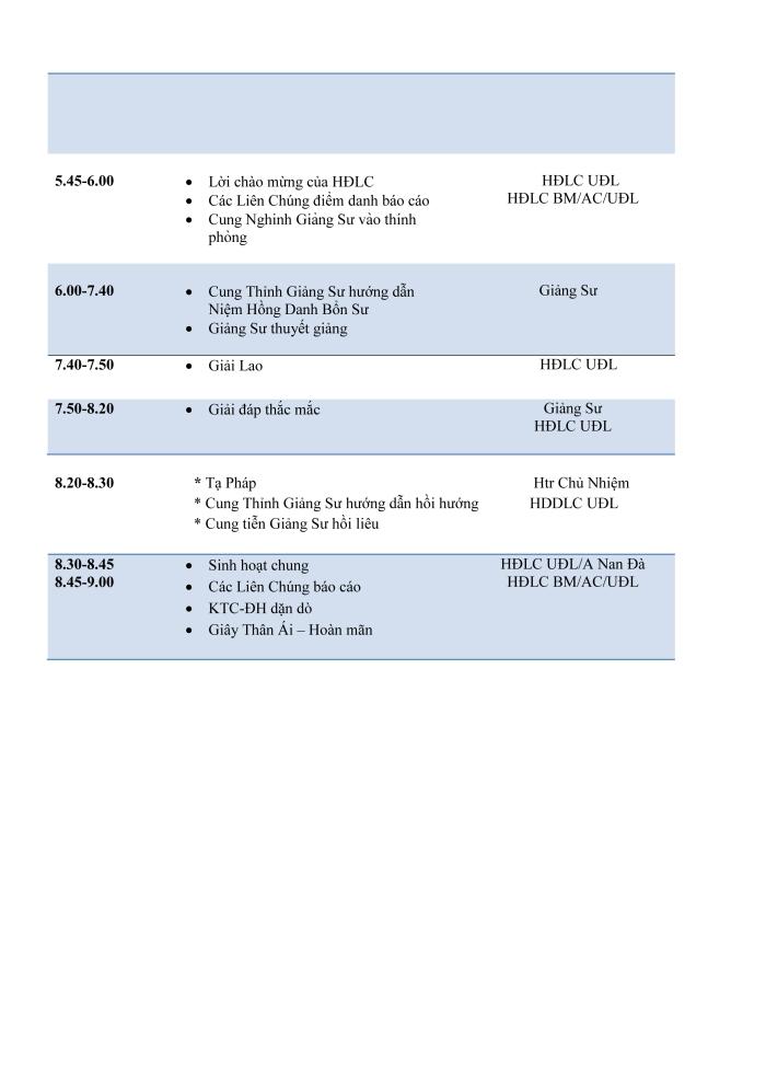 ChuongTrinhHocKinhKimCangLan2Ngay8-9July17-2
